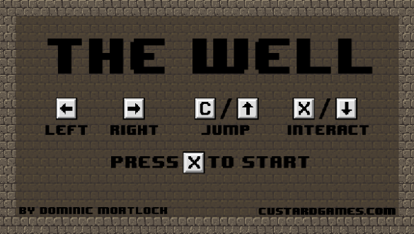 the well menu screen