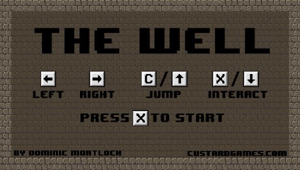 the well menu screen